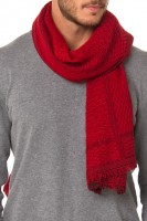 Scarf Ace 393 Red - Red
